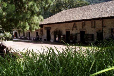 Fonda margarita en Hostal Hacienda Apulco, Zacapoaxtla, Puebla.